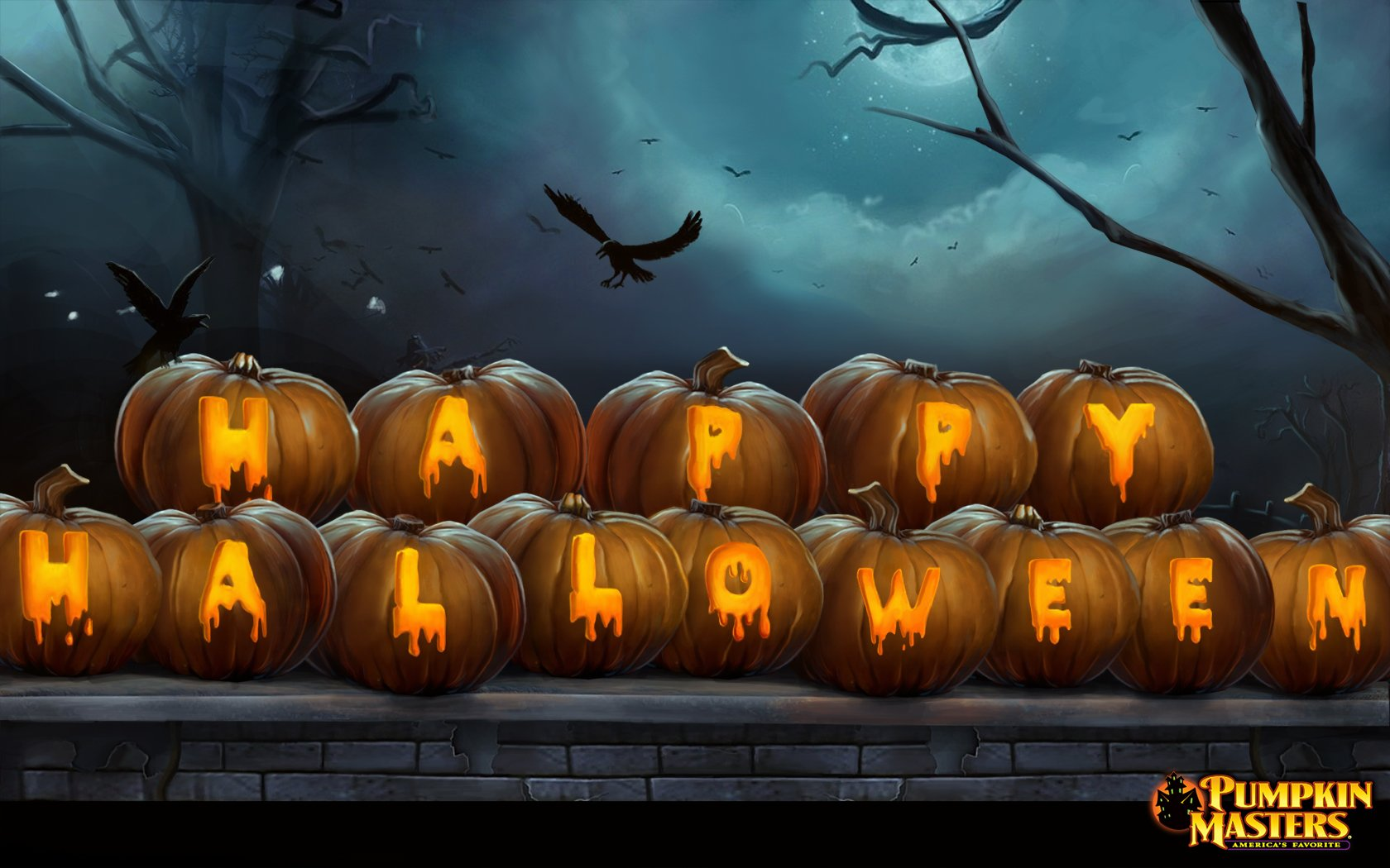 Halloween Desktop Wallpapers Halloween Carving Designs 1680x1050