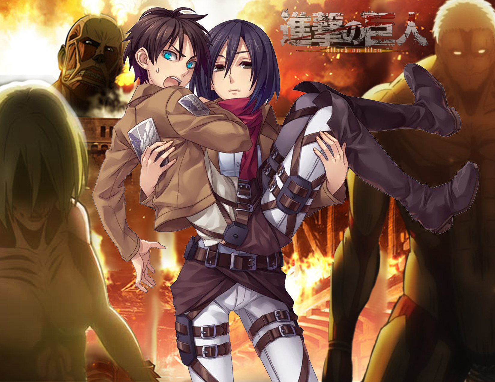 8 Fantastic Attack on Titan Wallpapers Daily Anime Art 1650x1275