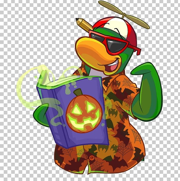 Club Penguin Island Halloween Party PNG Clipart Art Artwork 728x732