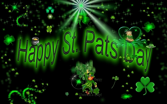 Happy Saint Patricks Day 2014 Wallpaper 650x406