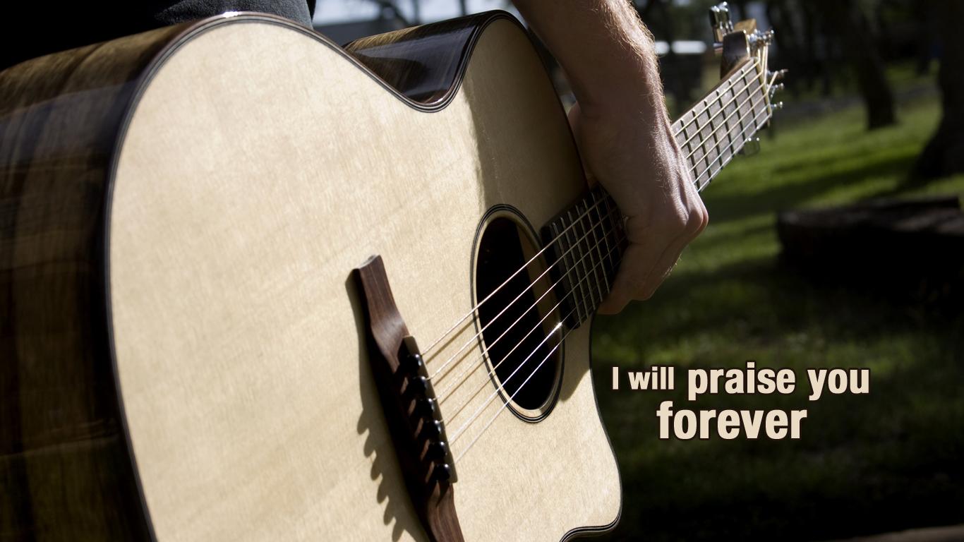 guitar worship praise wallpaper 1366x768 1366x768