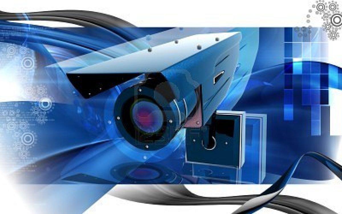 Security Camera Wallpaper 1200x750