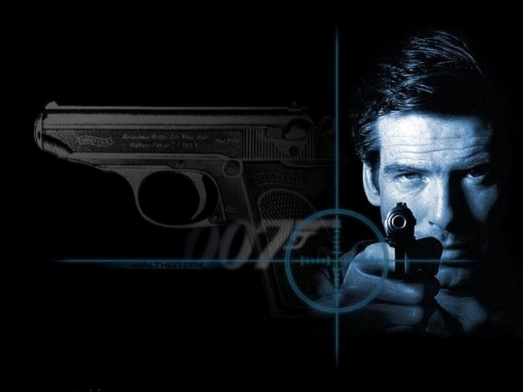 Fonds dcran de James Bond 007 sur Maxxiweb Fond et Wallpapers 1024x768