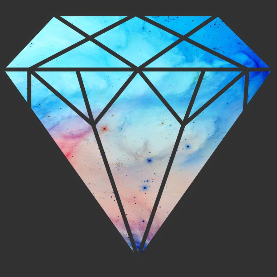 Diamond Galaxy Tumblr Diamond Tumblr Galaxy Diamond 900x900
