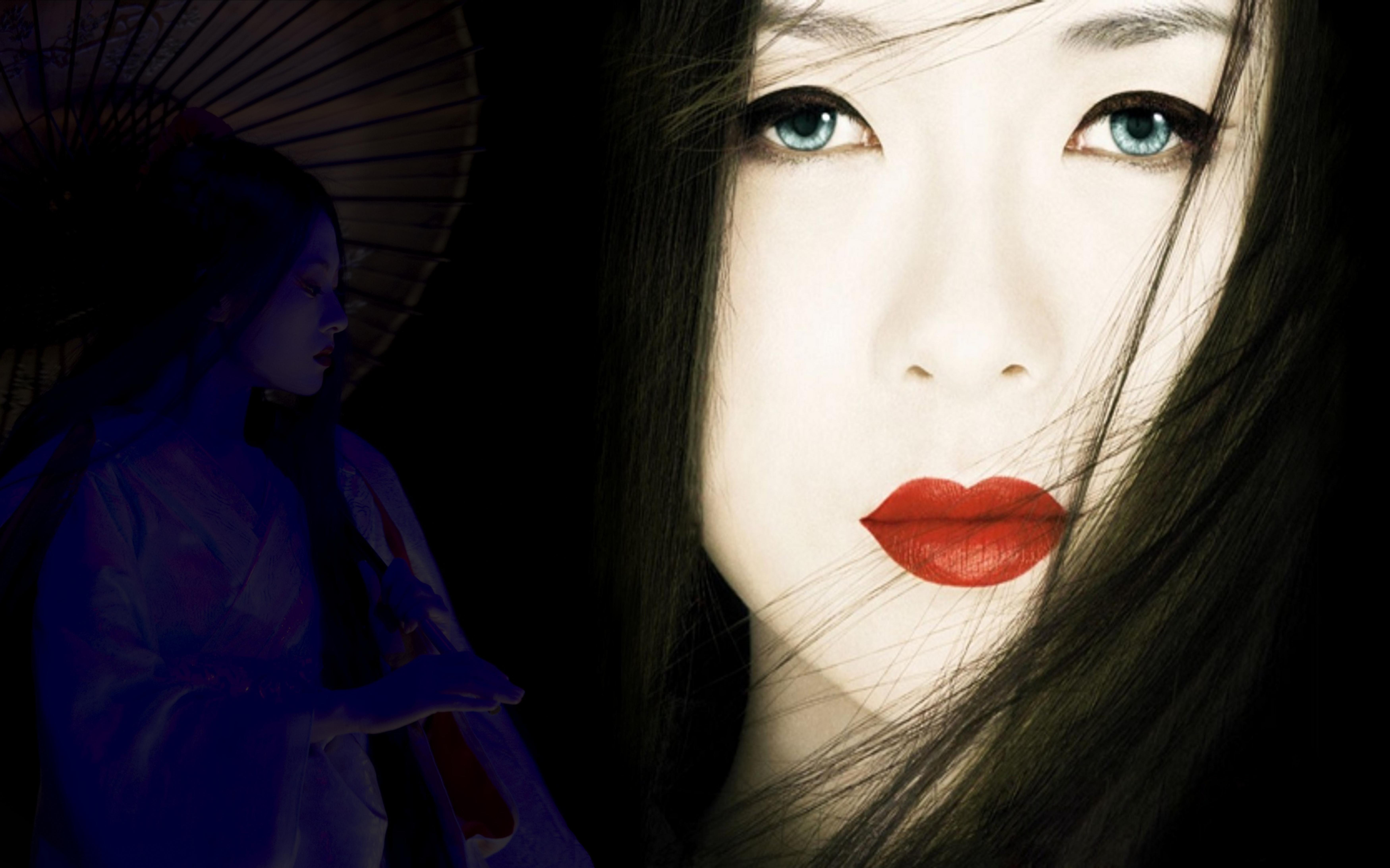 Geisha wallpaper by SandyTech 7000x4375