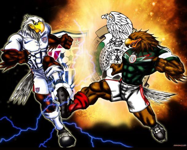 Mexico vs USA por Marduk28   wallpapers gratis   Fotos del Club 609x487