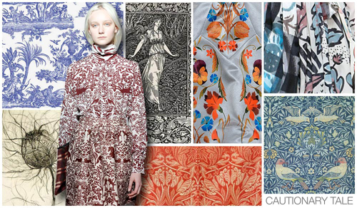 CAUTIONARY TALE William Morris was our main source of inspiration 500x292