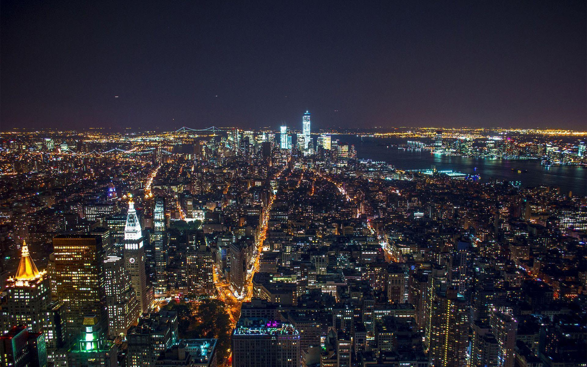NYC At Night Wallpapers 1920x1200