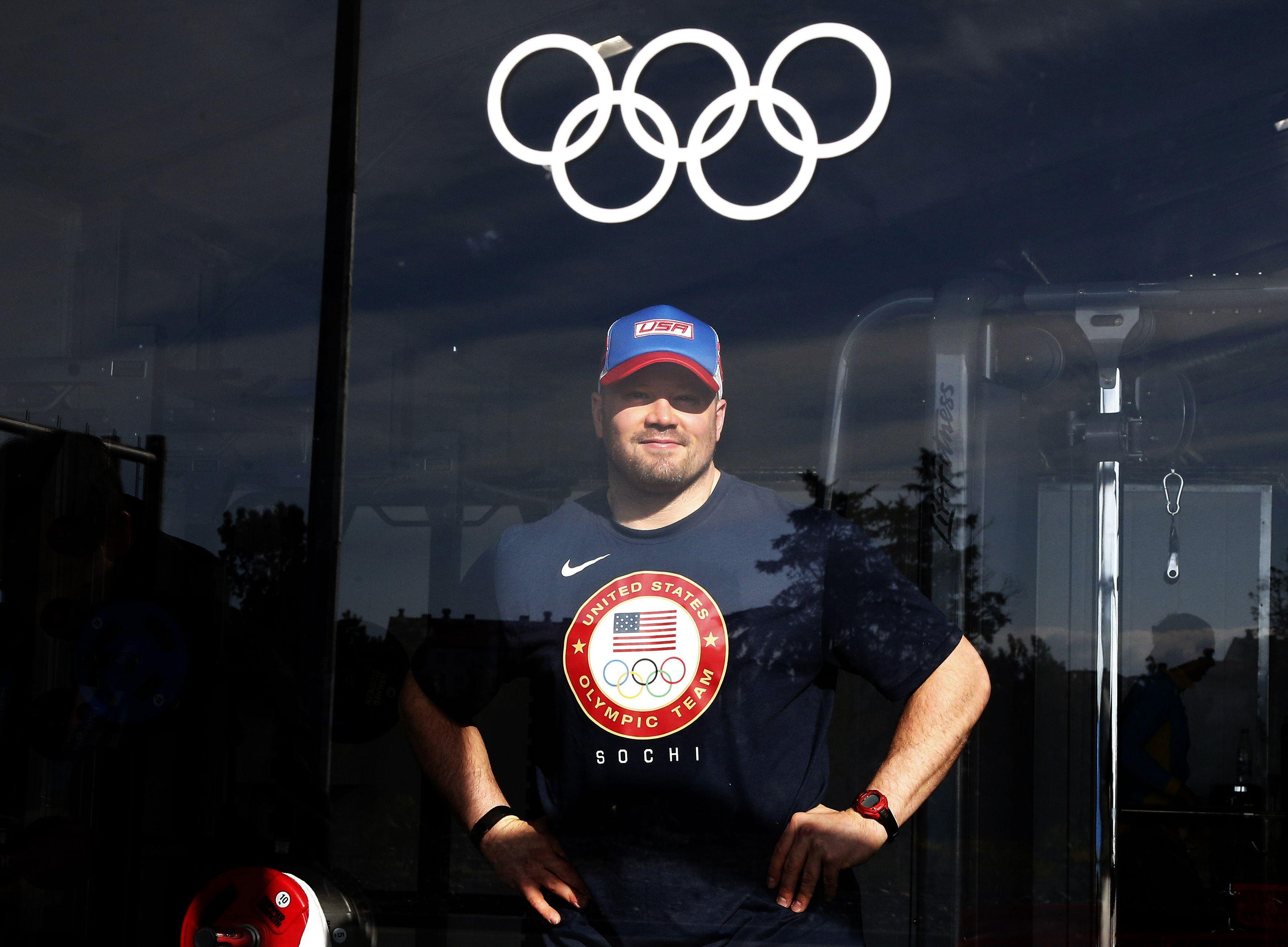 Winner of two bronze medals American bobsledder Steve 3500x2574