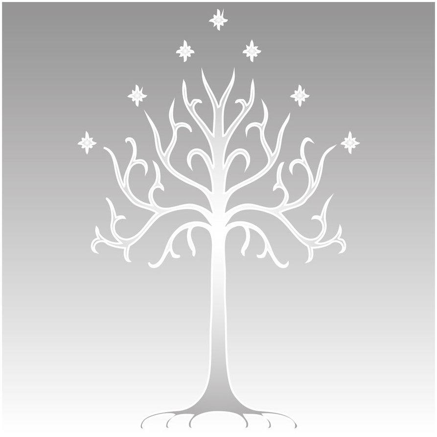 white tree of gondor 893x894