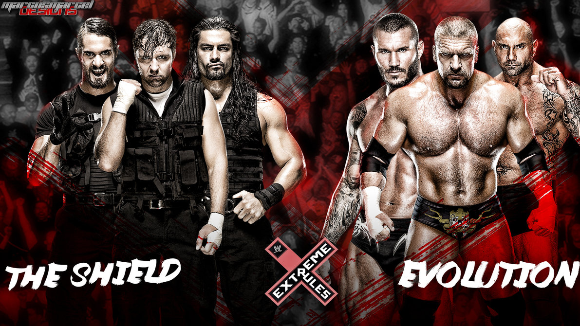Download Extreme Rules The Shield vs The Evolution by MarcusMarcel 1191x670