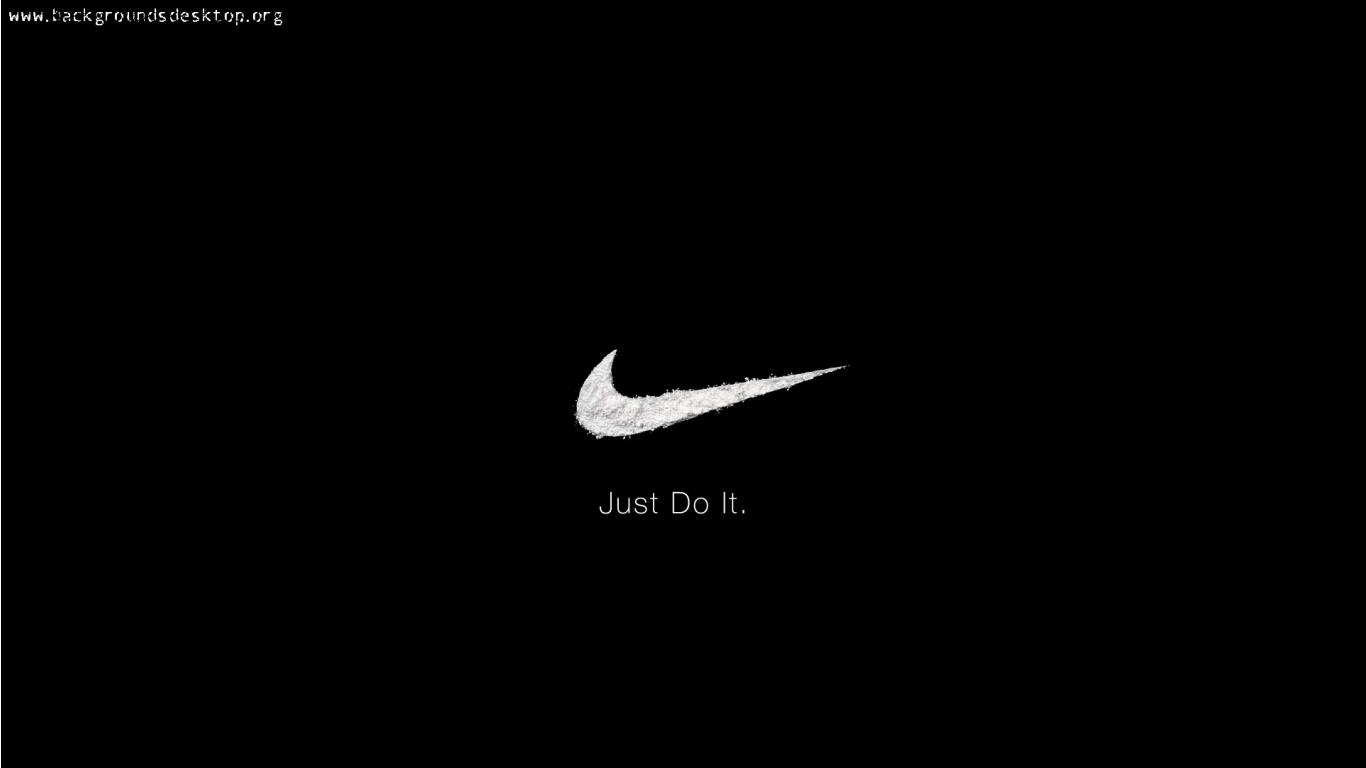 Logo Nike Just Do It Desktop 8 HD Wallpapers 1366x768