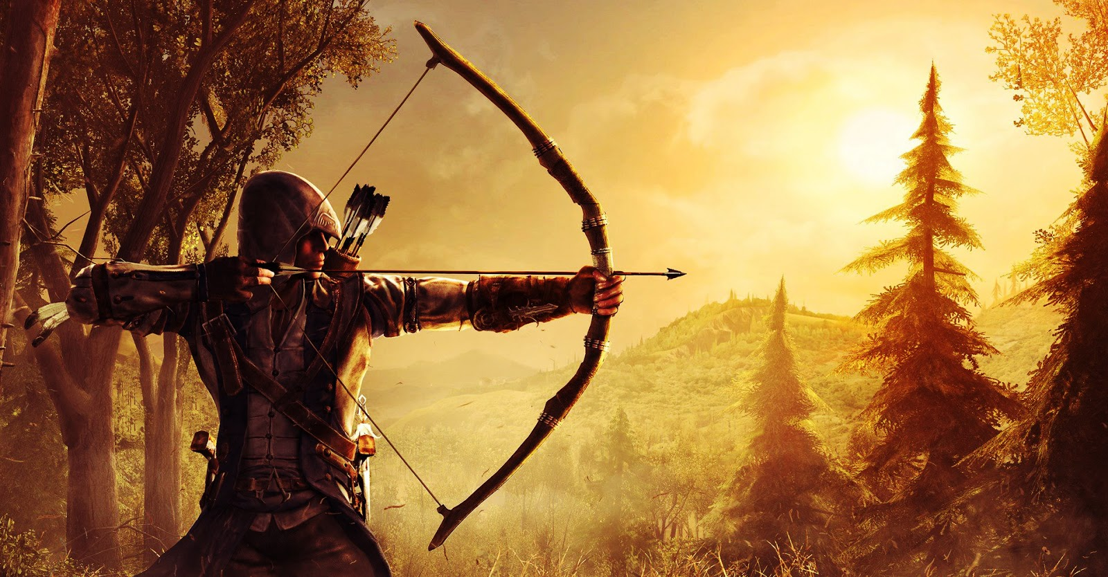 Assassins Creed III New Game HD Wallpapers Download Wallpapers 1600x834