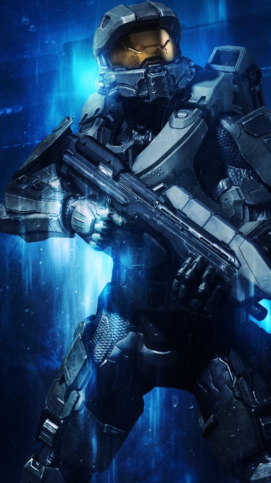 Free Download Blue Halo Master Chief 4 Wallpaper 68545