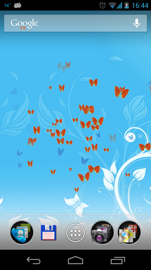 Butterflies 3D Live Wallpaper Android   Download 300x535
