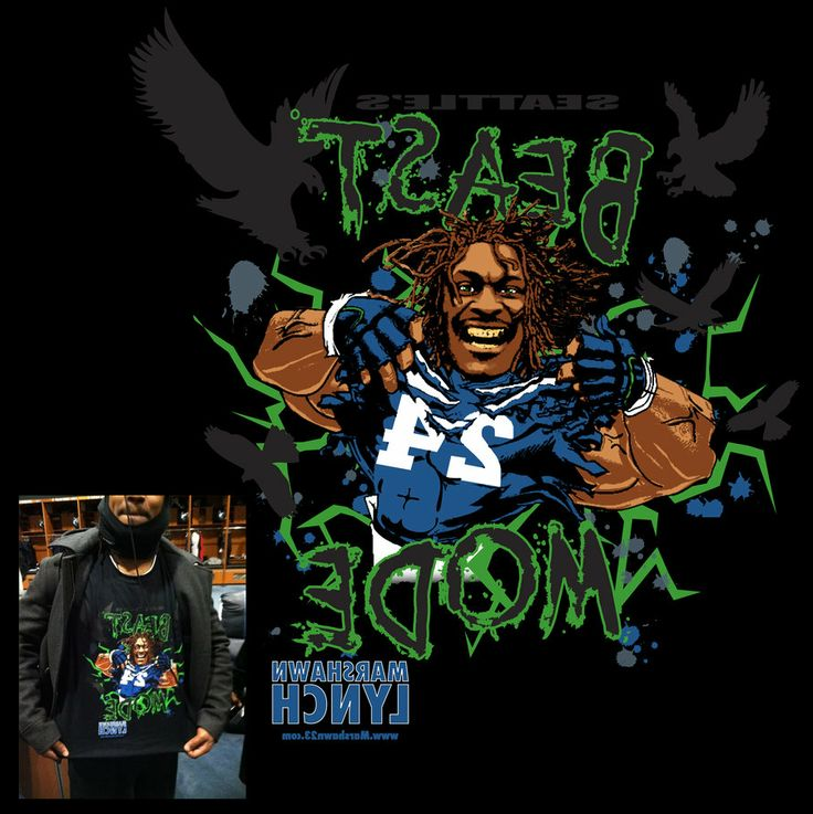 Marshawn Lynch Beast Mode Grill Original Size Click Here by 736x737