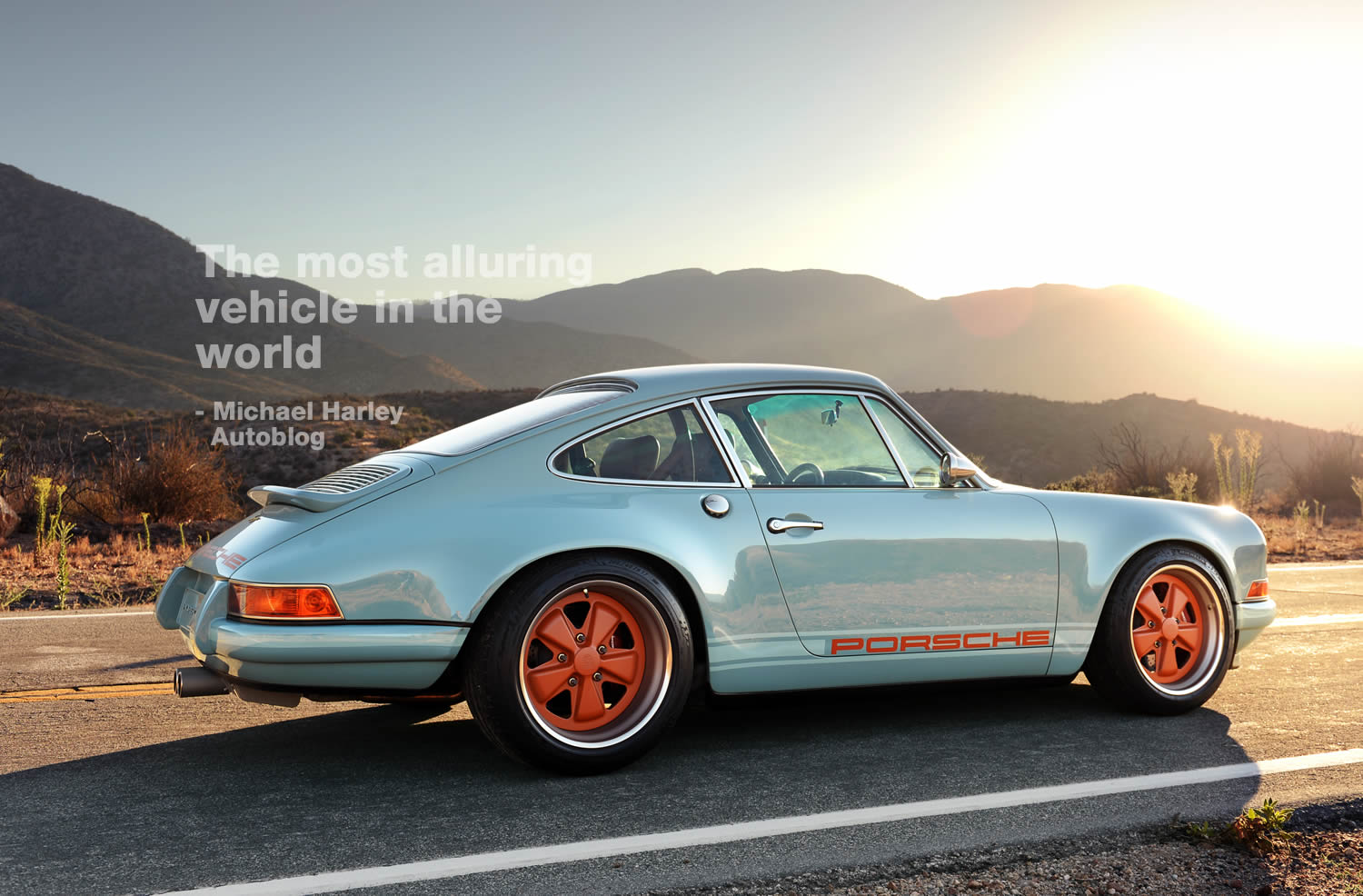 Singer Porsche Wallpaper Wallpapersafari