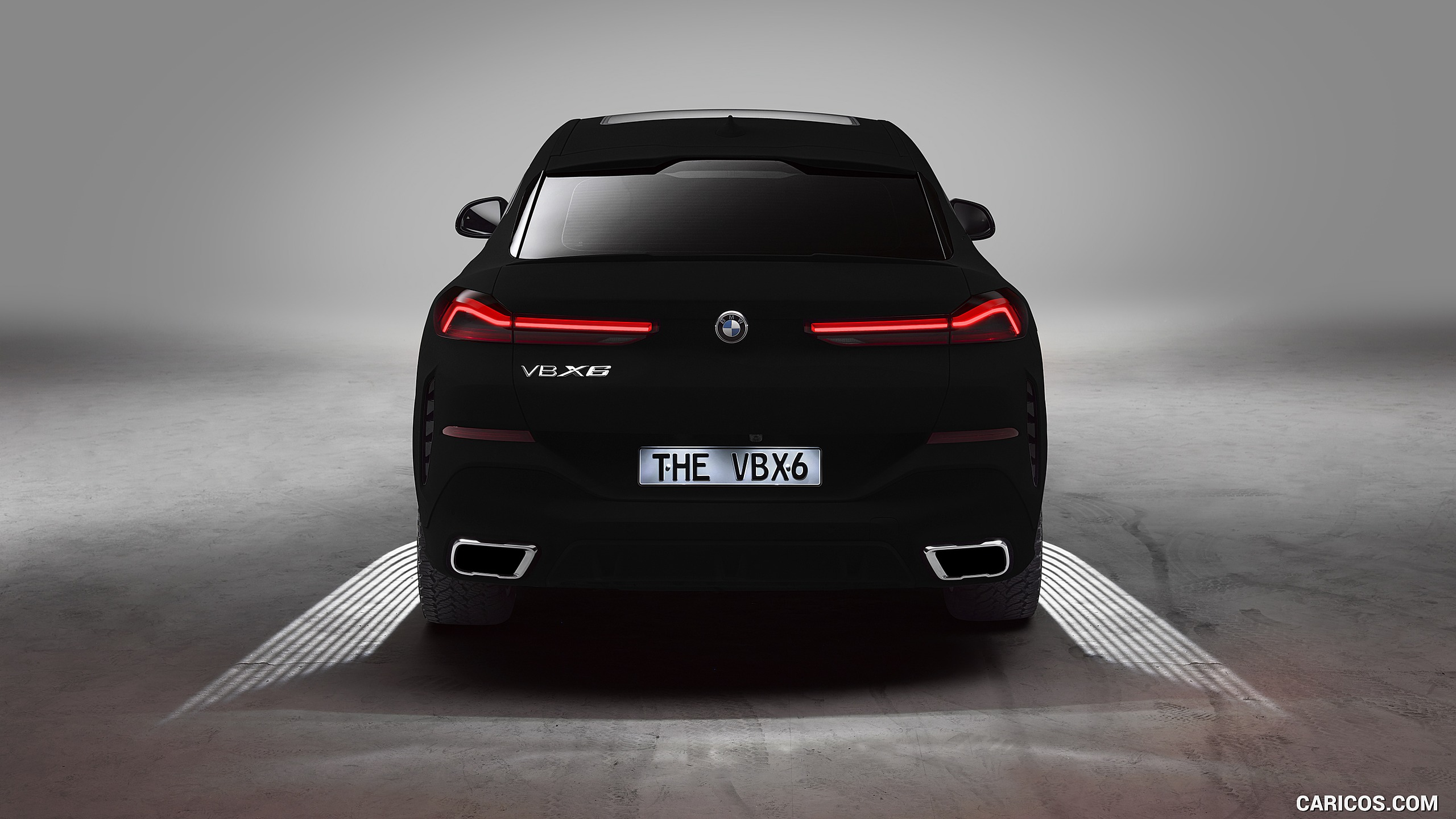 2020 BMW X6 Vantablack   Rear HD Wallpaper 4 2560x1440