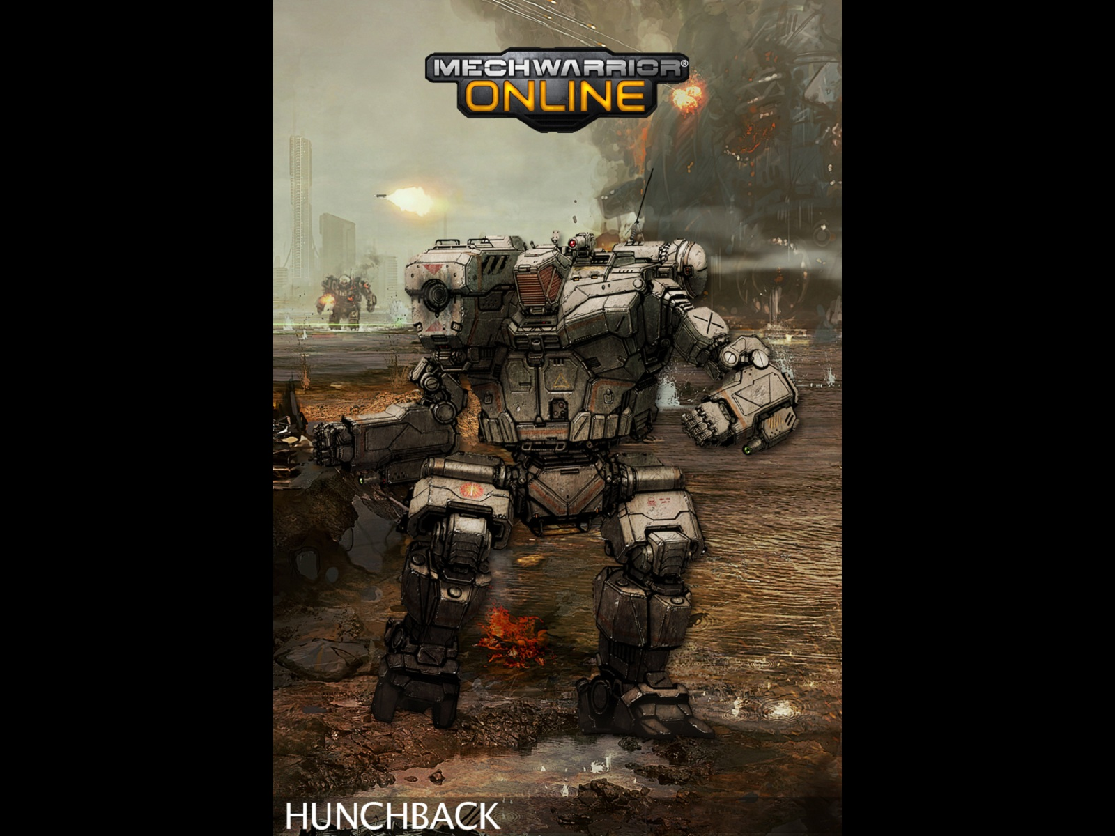 Hunchback Concept   MechWarrior Online 1600x1200