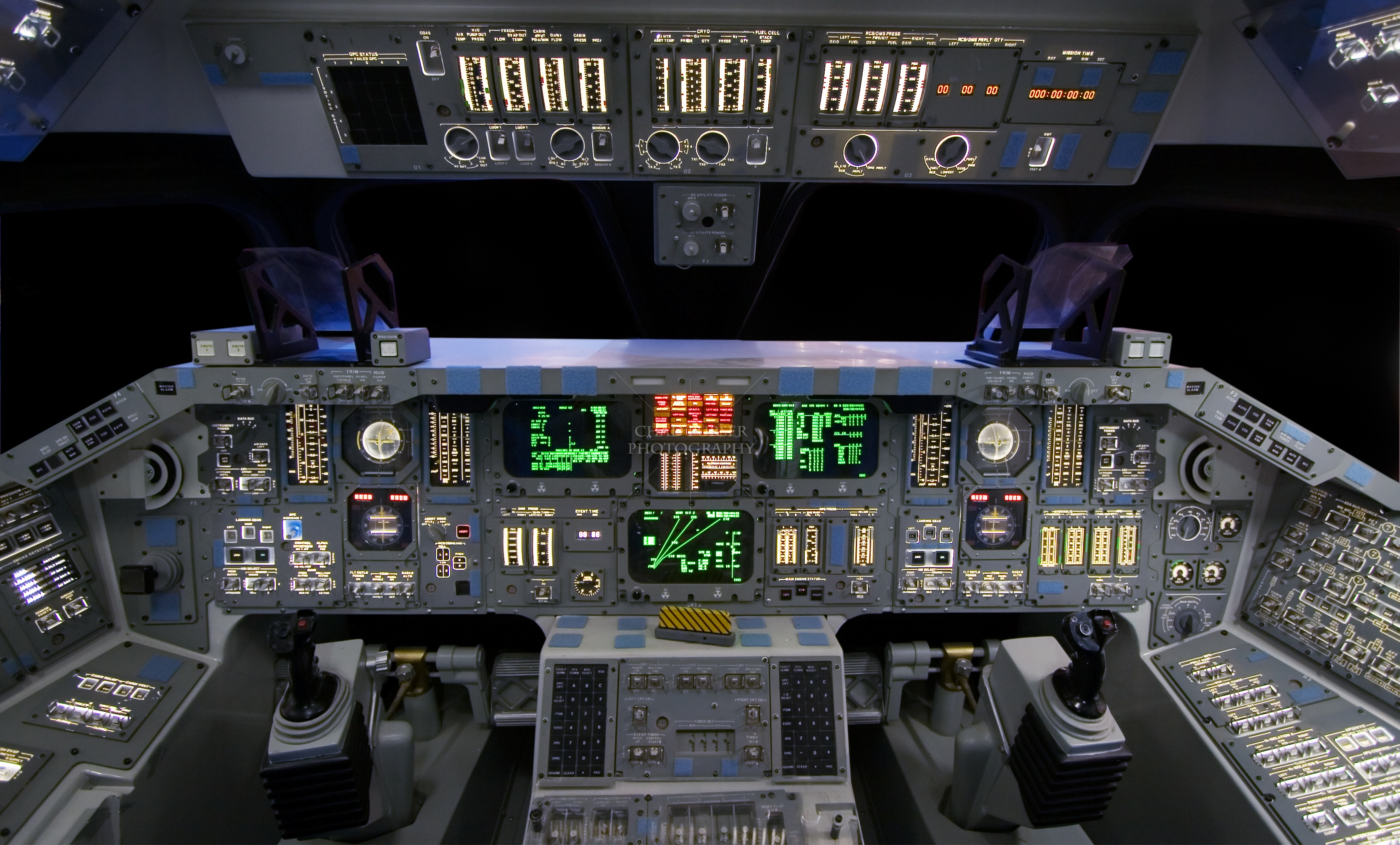space shuttle launch cockpit view hd - photo #29