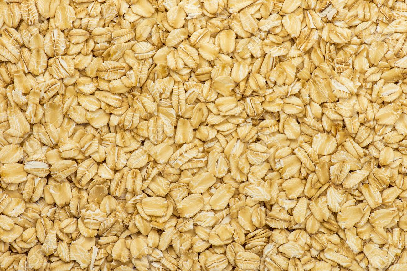 Oatmeal Texture Rolled Oat Flakes Background Stock Photo Picture 1300x867