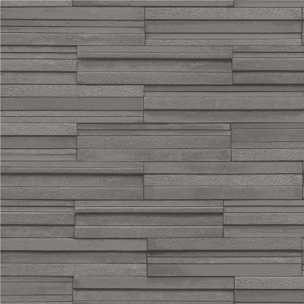 Wallpaper Fine Decor Fine Decor Ceramica Slate Tile Wallpaper 1000x1000