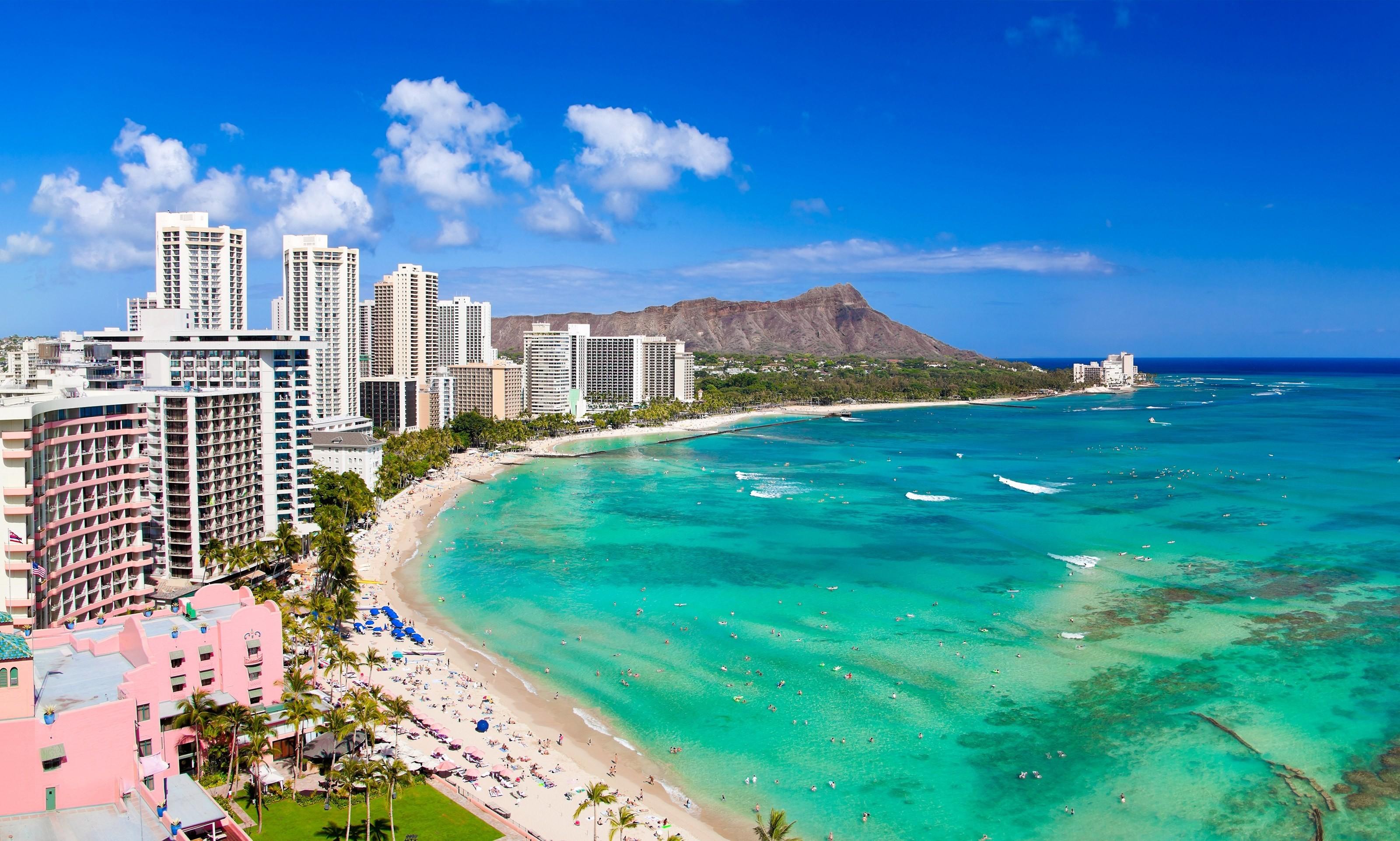 61 Waikiki Beach Wallpapers on WallpaperPlay 3200x1924