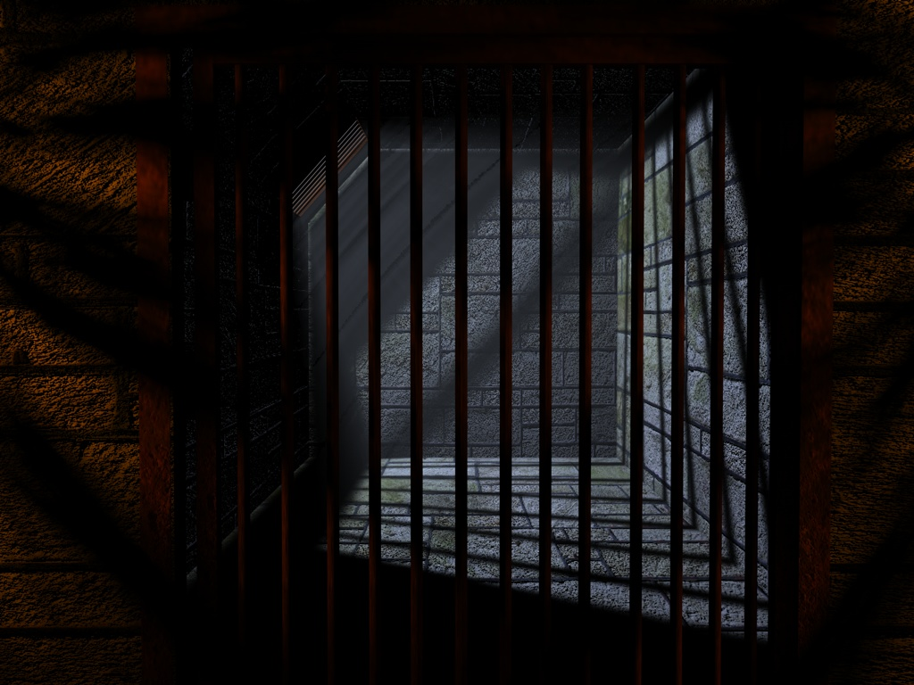 Jail Cell by InkSm3ar 1024x768