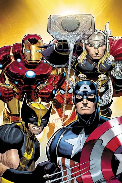 Marvel Comics Avengers iPhone HD Wallpaper 516x774