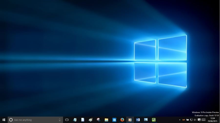 Free Download Windows 10 Original Wallpaper Windows 10 Rtm