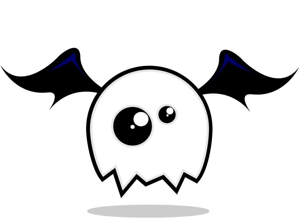 Cute Ghost Wallpaper Tumblr Cute ghost monster thing by 1024x768