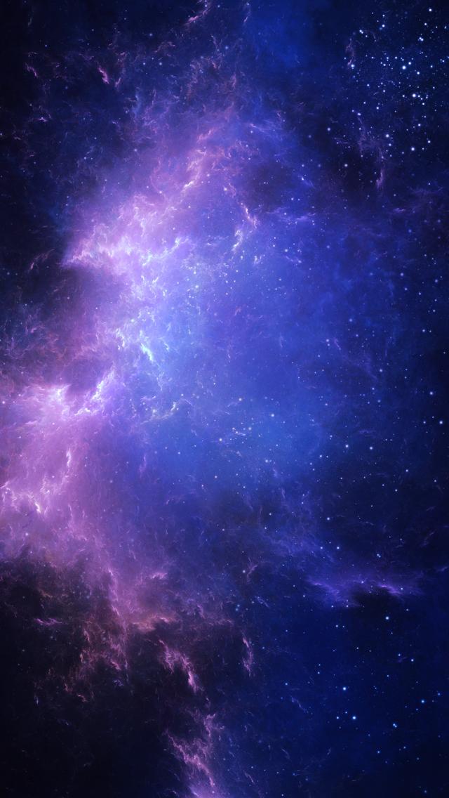galaxy wallpaper hd iphone 640x1136