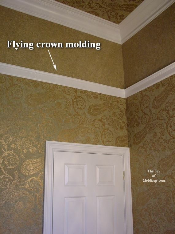 Crown Molding on Vaulted or Cathedral Ceilings   The Joy of Moldings 570x760