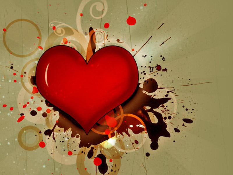Emo Broken Heart Wallpaper HD Backgrounds Images Pictures 800x600