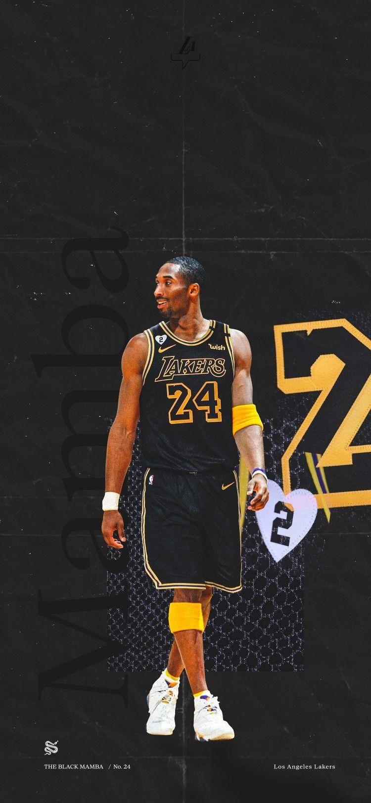 Kobe Bryant Wallpaper in 2020 Kobe bryant wallpaper Lakers kobe 750x1624