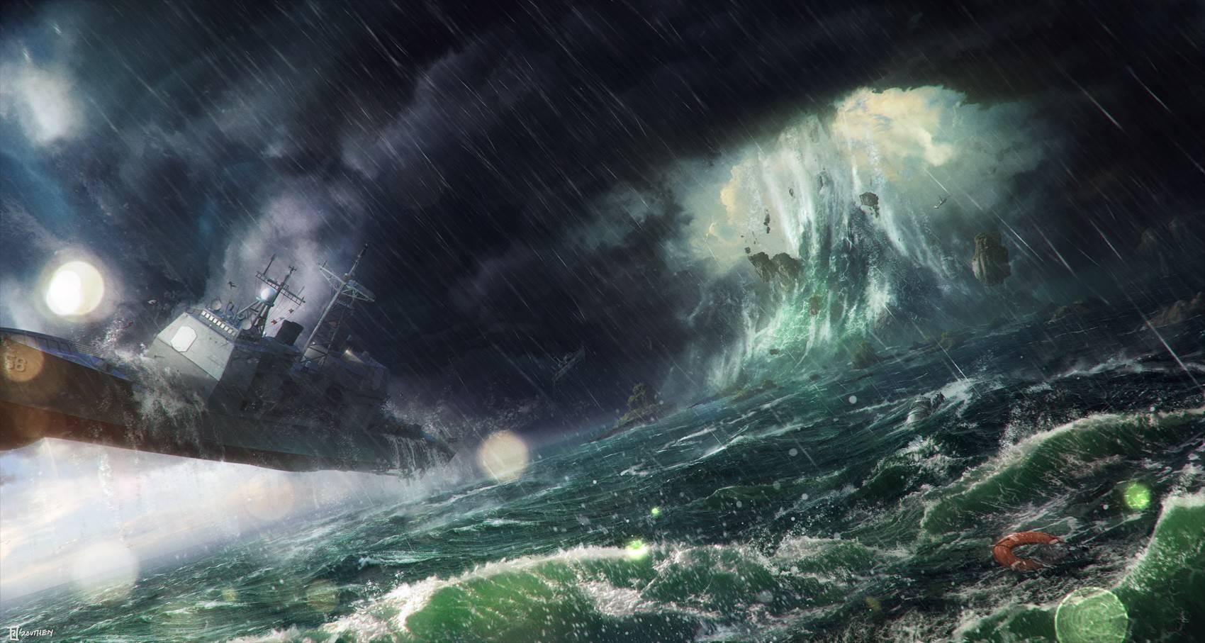 Ocean Storm 1700907 Wallpaper 2170279 1700x907