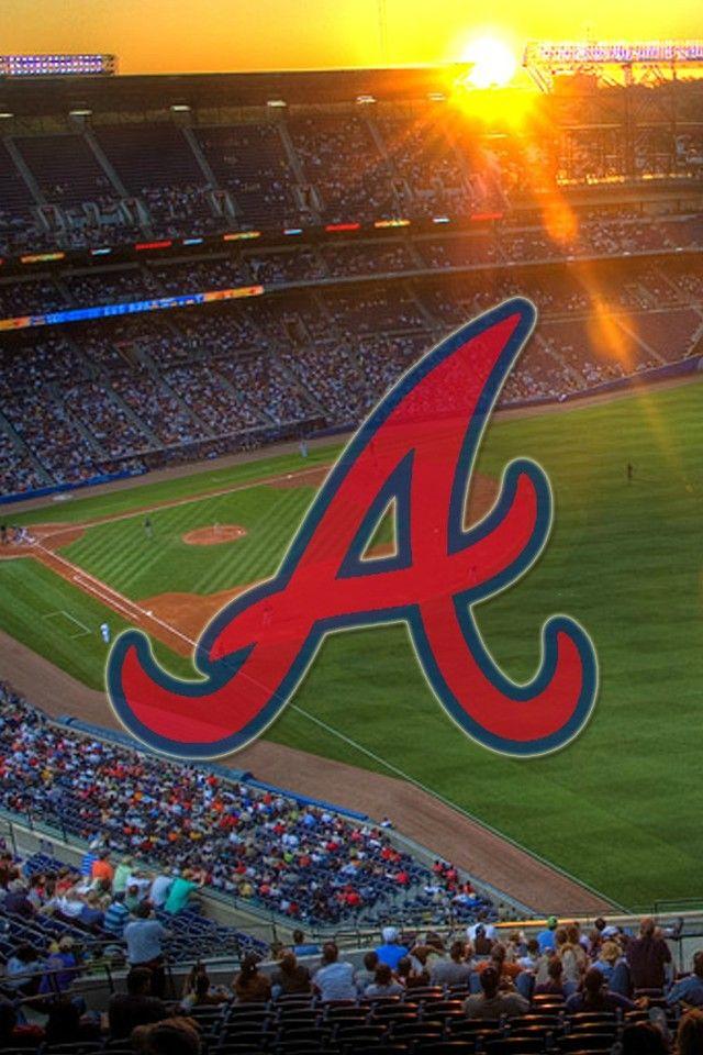 Turner field Atlanta braves wallpaper Atlanta braves iphone 640x960