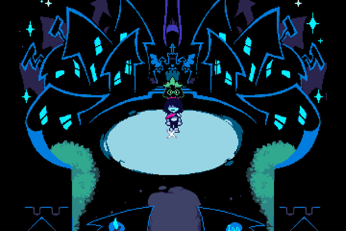 Deltarune isnt an Undertale sequel and its early in development 1200x800