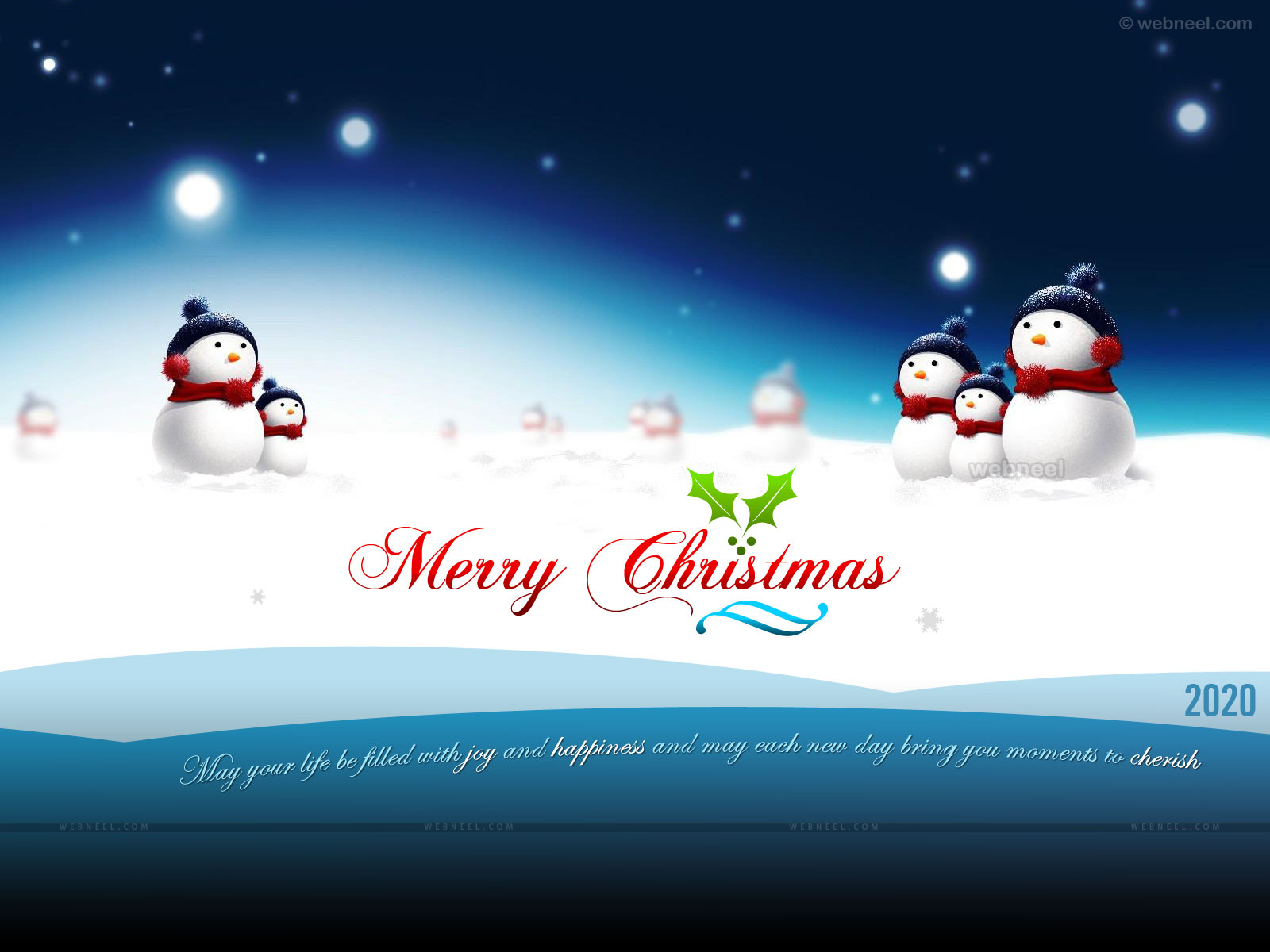 50 Beautiful Christmas and Winter Wallpapers for your desktop 1600x1200