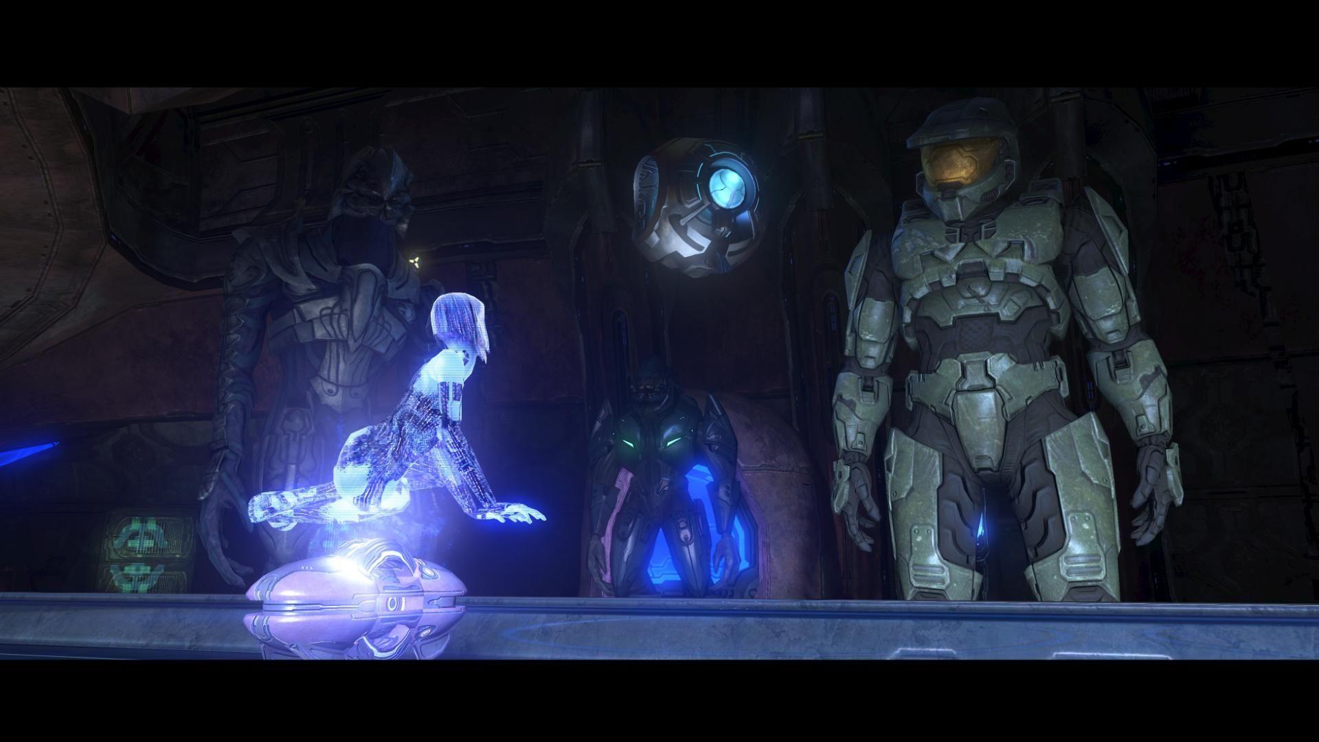 Video Game   Halo 3 Cortana Master Chief Wallpaper Halo 3 1920x1080