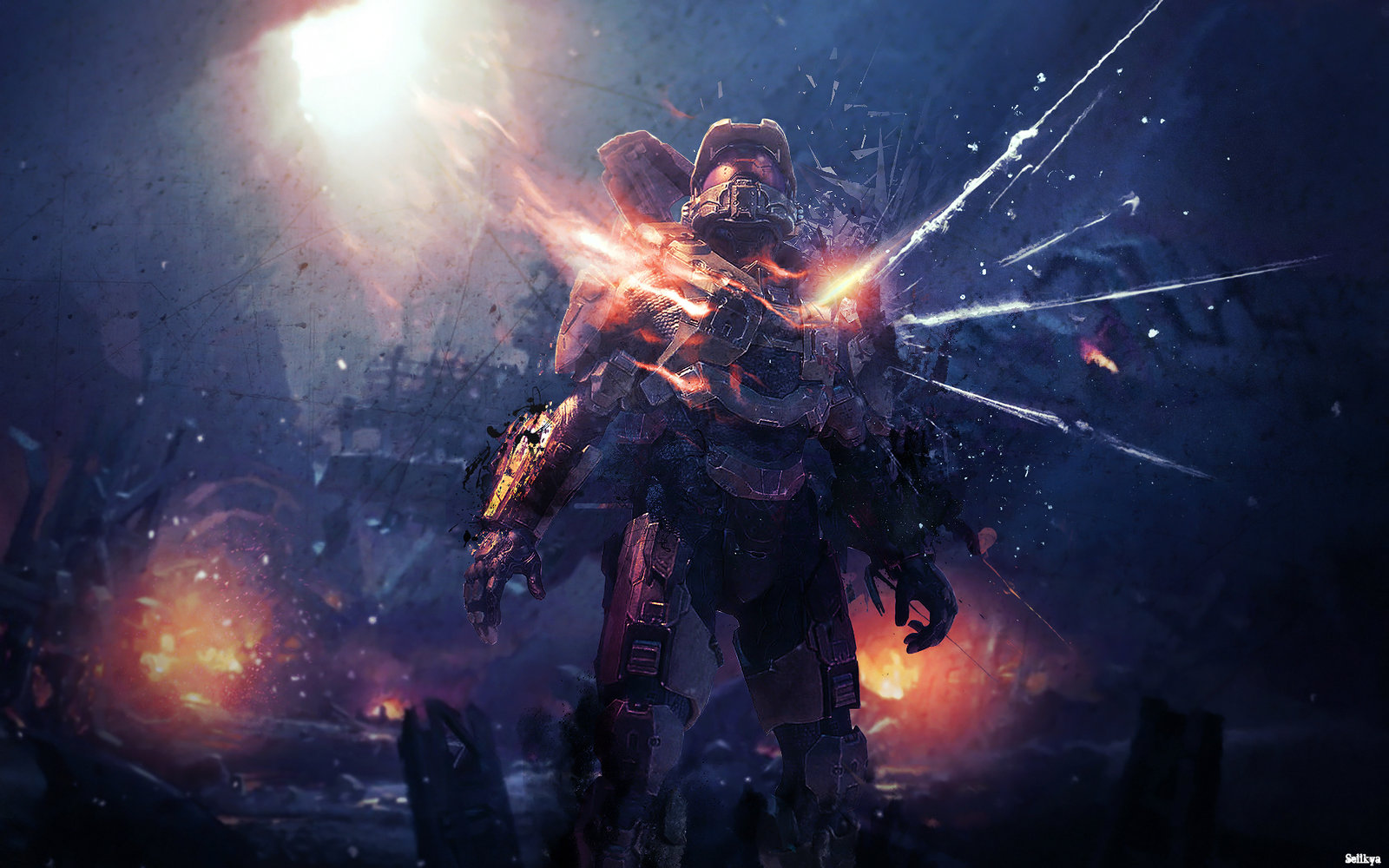 Free Download Halo 5 Guardians Wallpaper 1 1600x1000 For Your