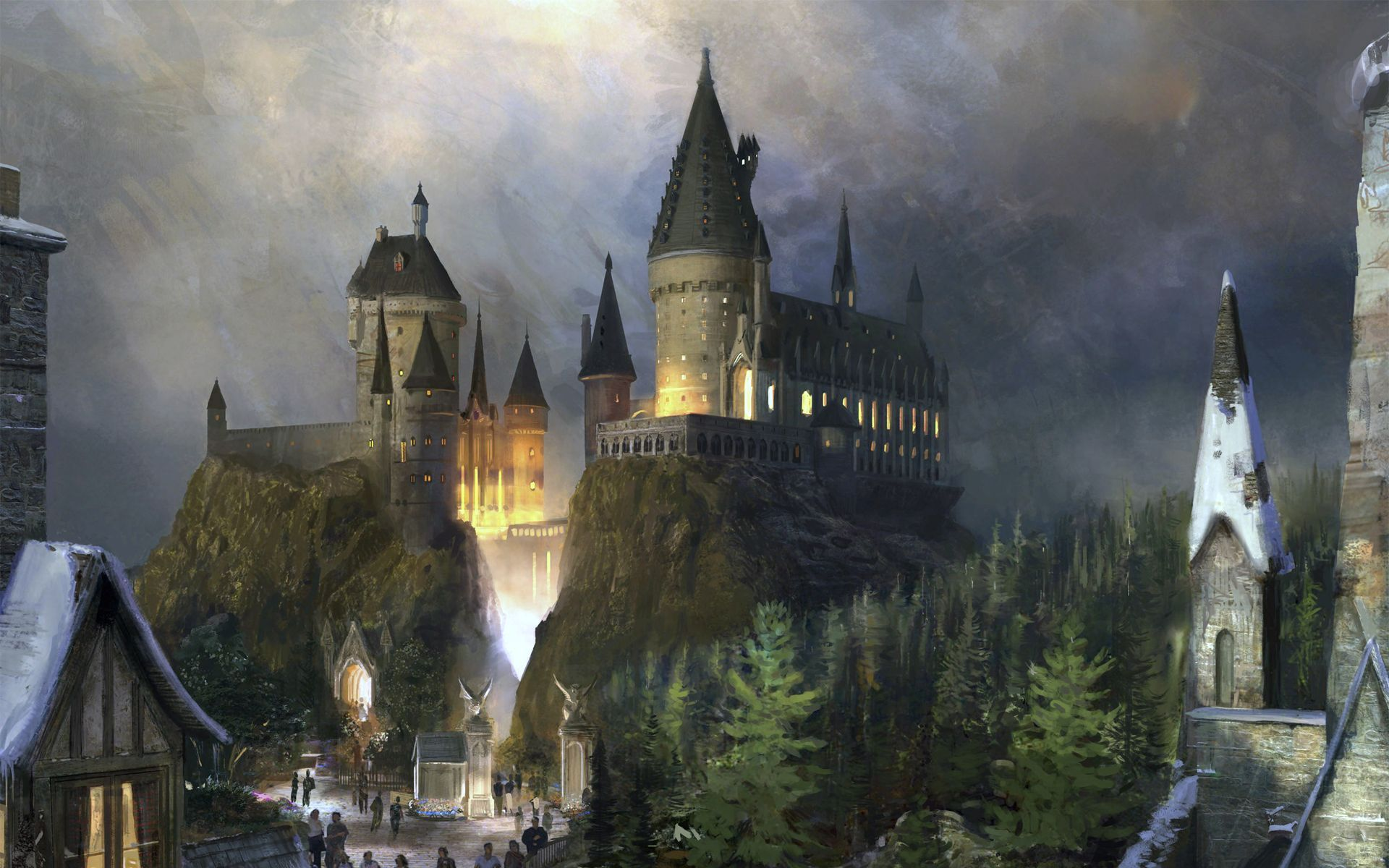 Hogwarts Desktop Wallpaper 68 Images