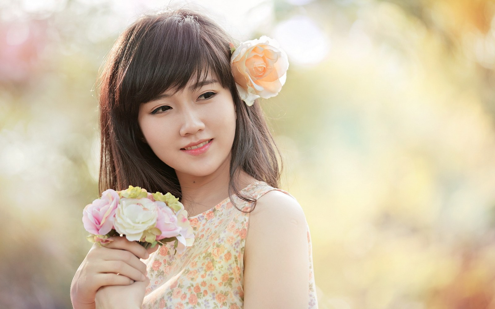 beautiful korean girl wallpaper   wallpapersafari
