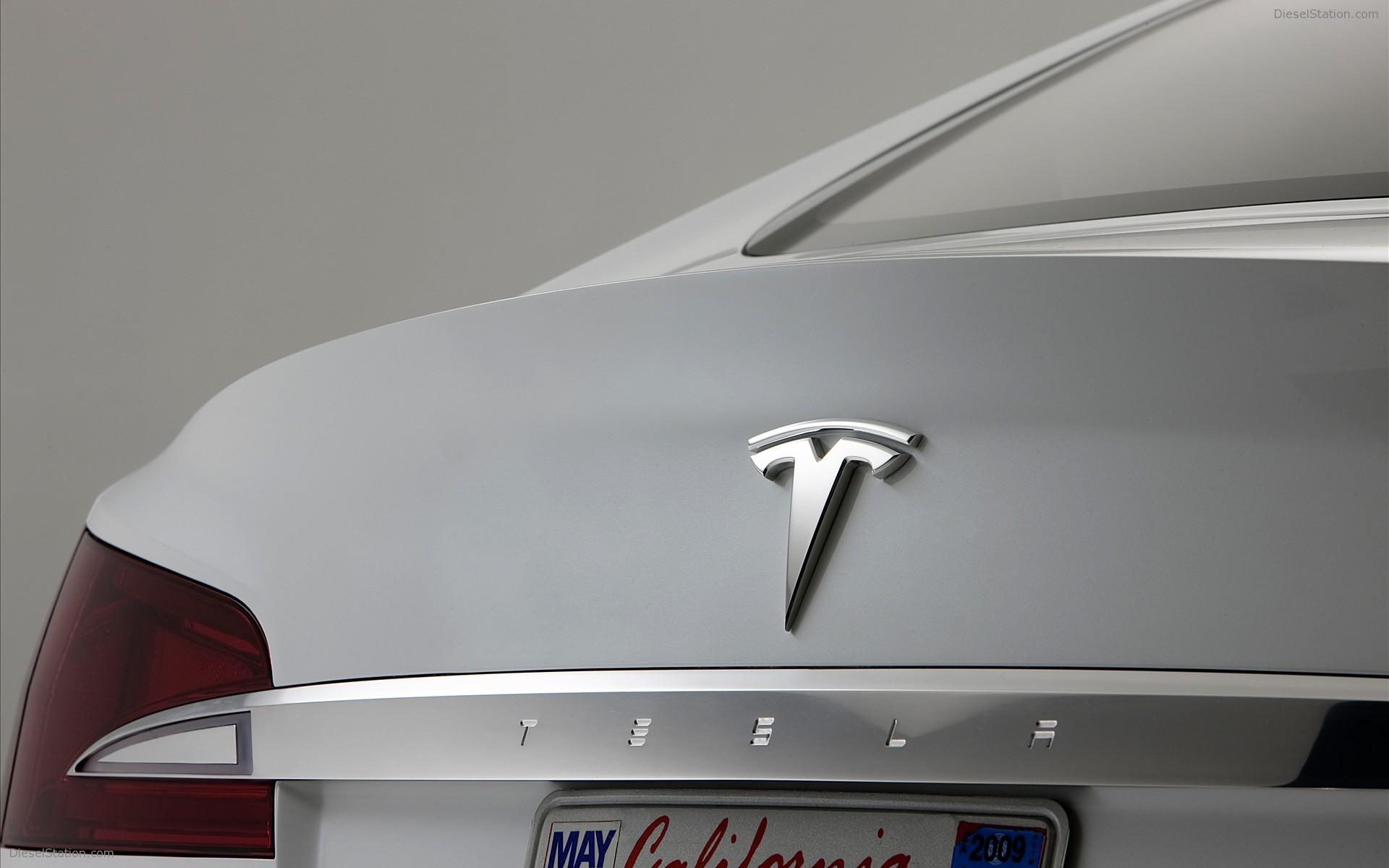 2010 Tesla Model S Concept HD Desktop Wallpaper 1920x1200
