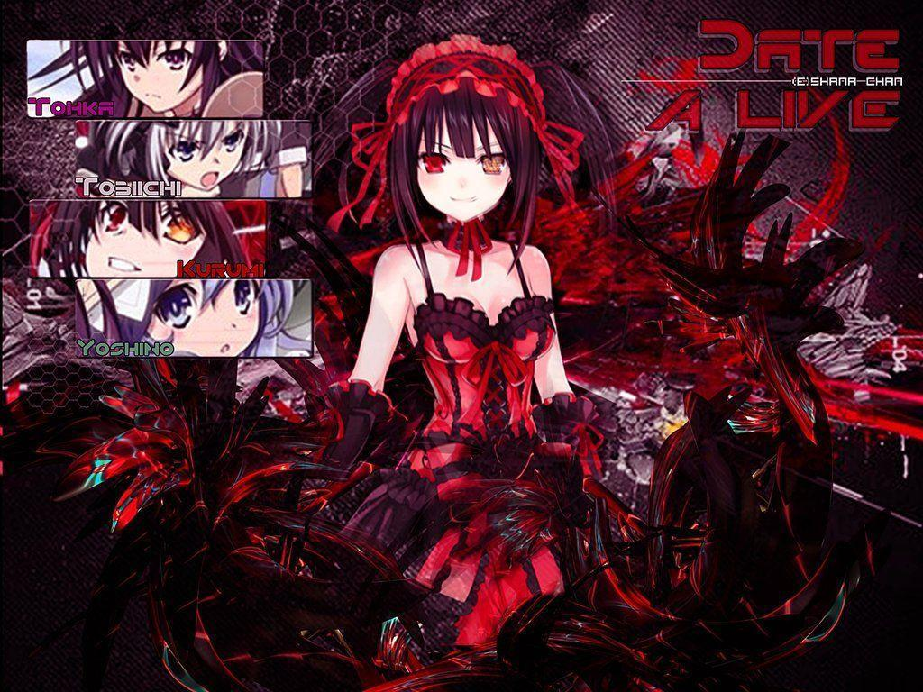 Date A Live Wallpapers 1024x768