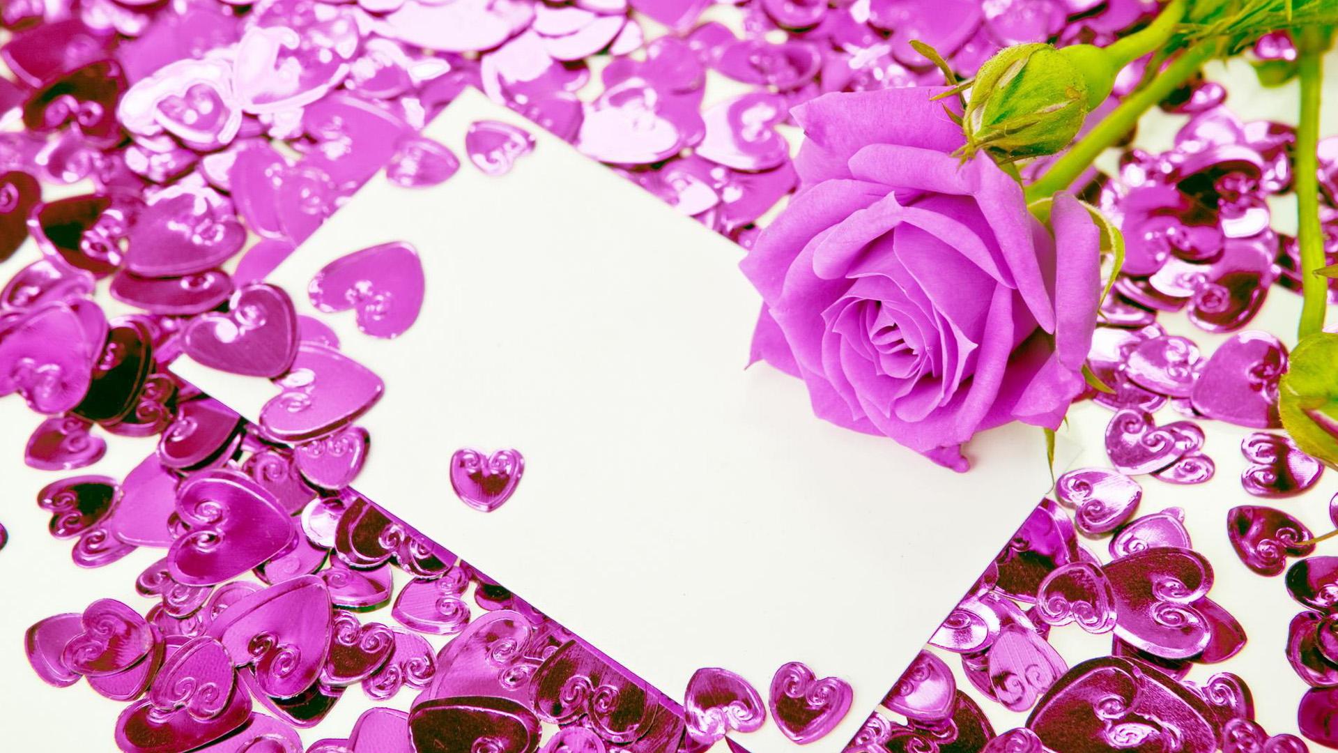 Wallpaper Love Rose 1920x1080