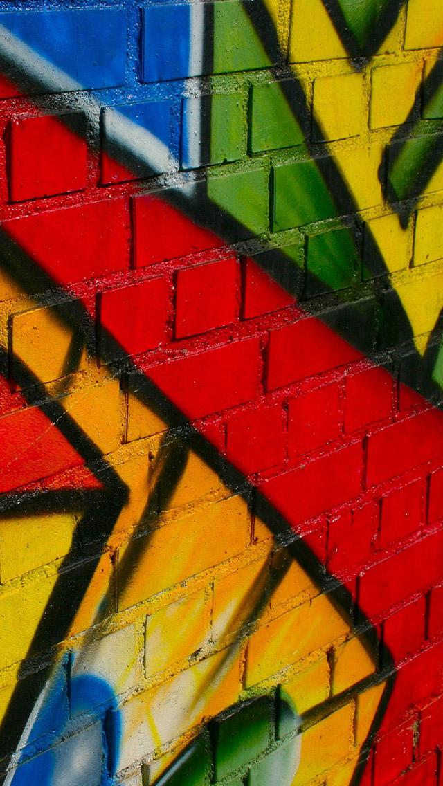 Graffiti iPhone 5s Wallpaper Download iPhone Wallpapers iPad 640x1136