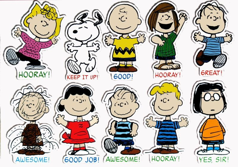 charlie brown peanuts characters names Success 800x564
