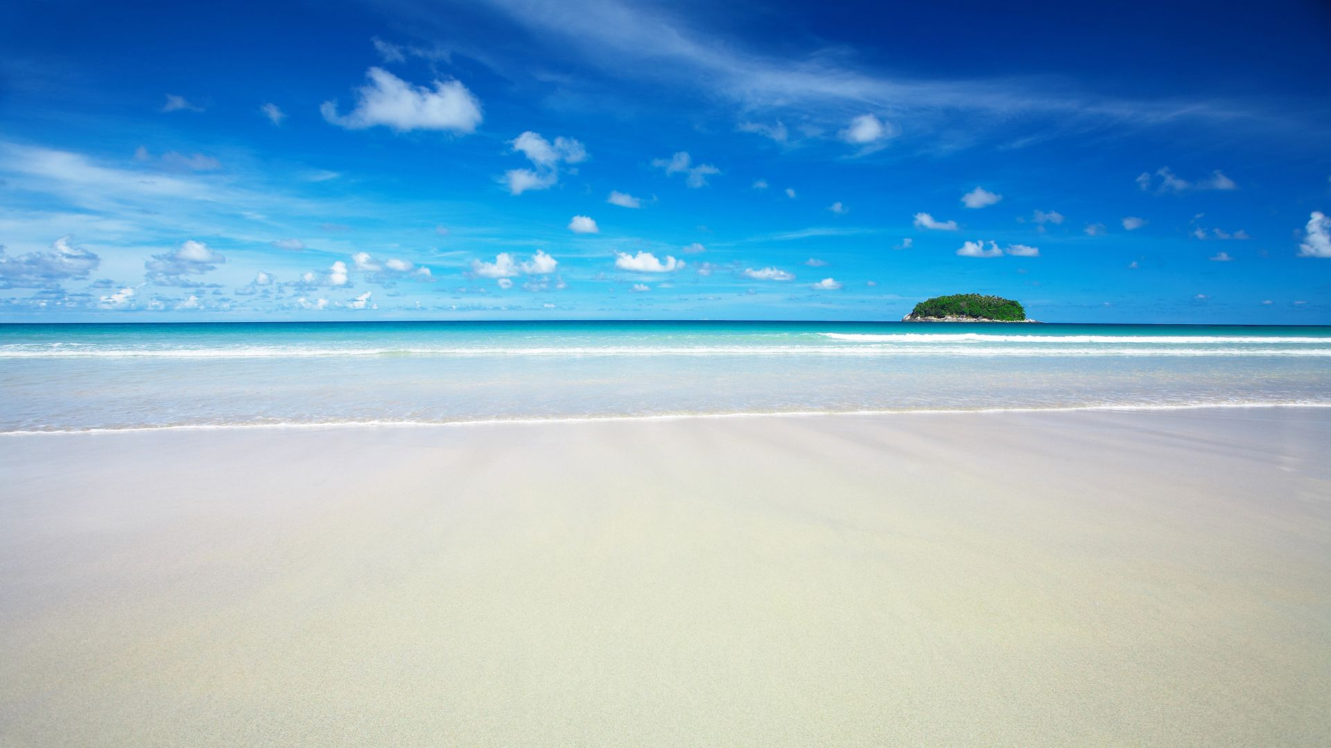HD Sky Blue Beach Wallpapers | HD Wallpapers