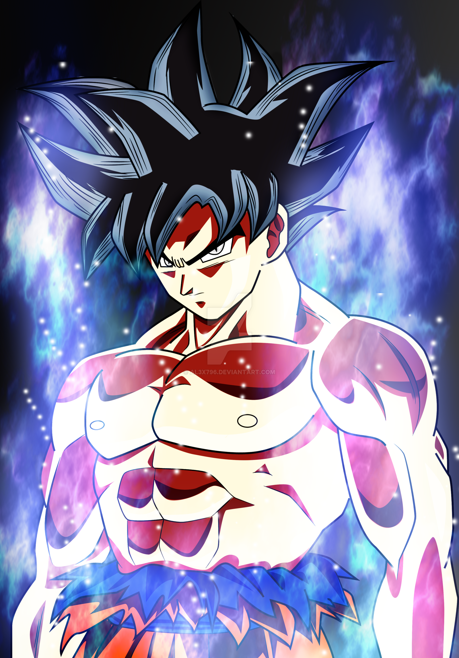 88 Goku Ultra Instinct Wallpapers On Wallpapersafari